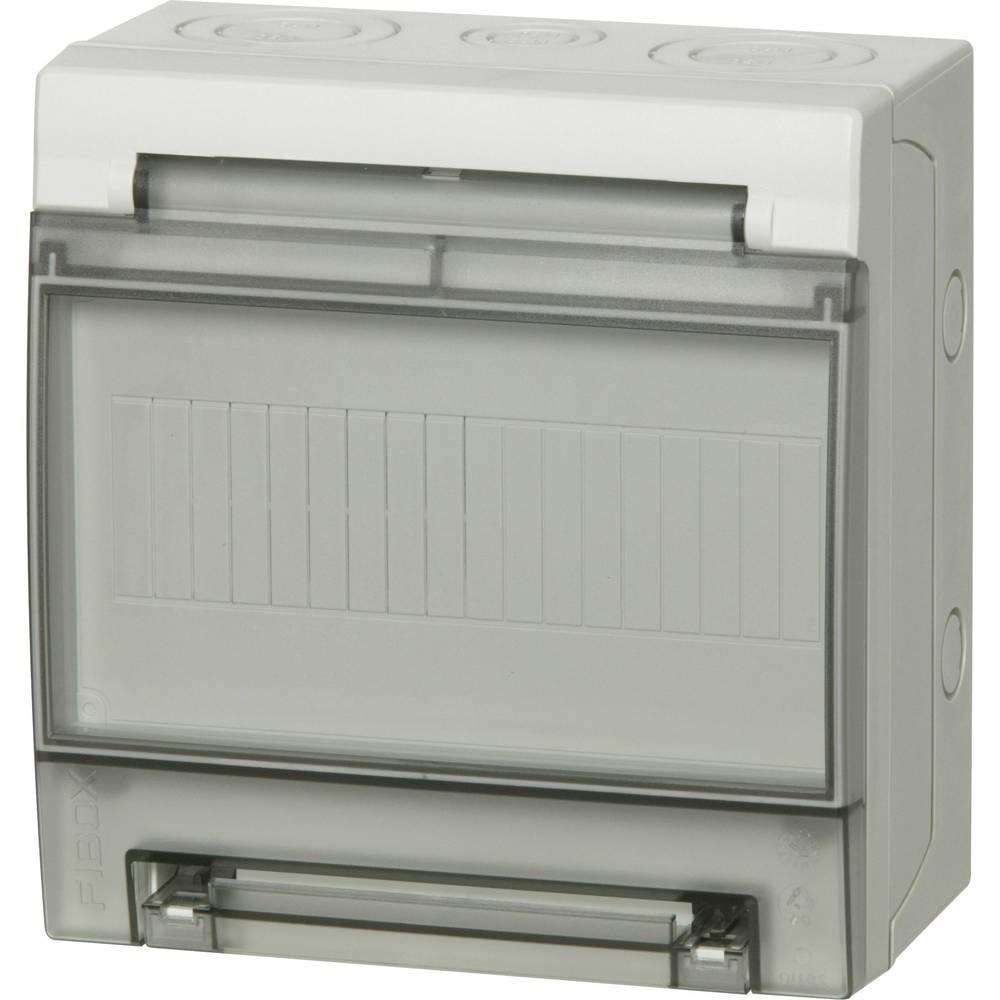 Zidno kućište, kućište za instalacije 7259171 Fibox polikarbonat svijetlosiva (RAL 7035) 200 x 190 x 105 1 kom.