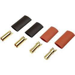Batterikontakt Reely 5.5 mm förgylld 2 par