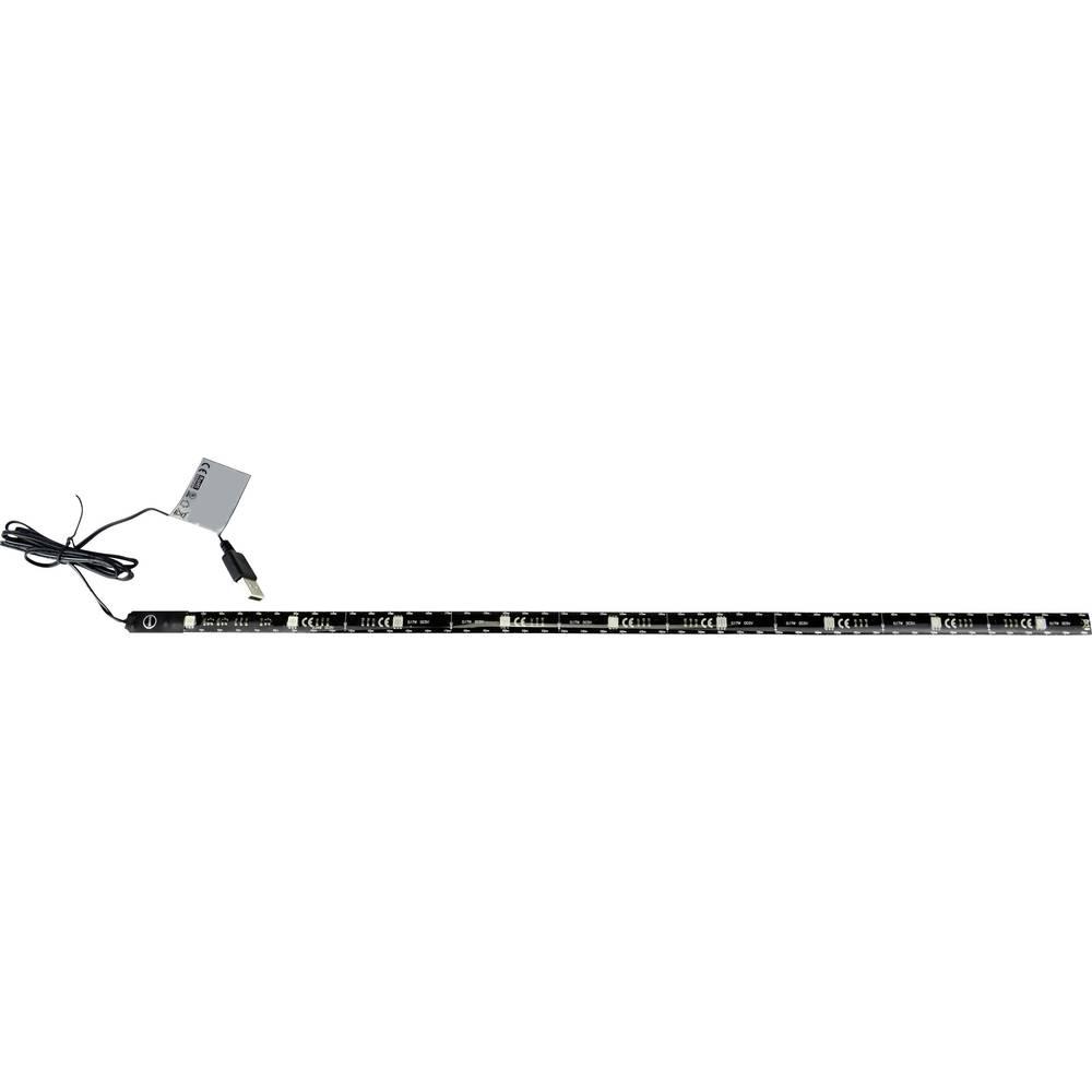 Dekorativna LED traka 701444 X4 Life, s USB priključkom crna