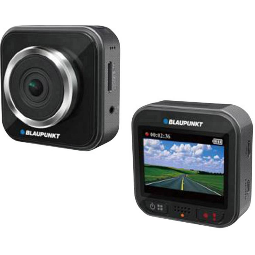 Dashcam Blaupunkt BP 5.0 Betragtningsvinkel horisontal=160 ° 12 V, 24 V Batteri, Display, Mikrofon