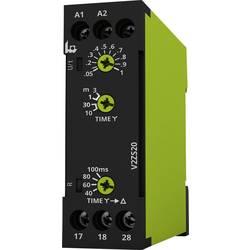 Tidsrelæ tele V2ZS20 12-240V AC/DC Multifunktionel 0.04 - 180 s 2 x sluttekontakt 1 stk