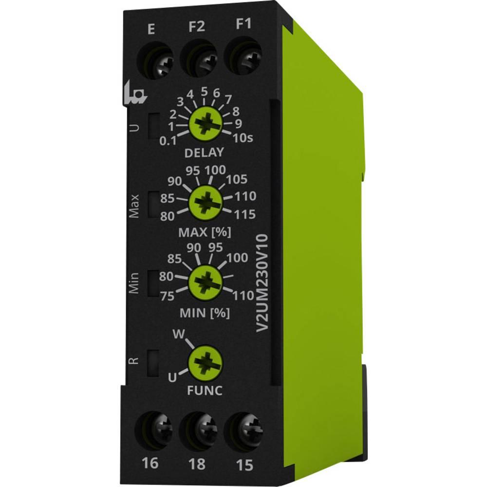 Nadzorni relej napona (1-fazni) tele V2UM230V10 nadzor napona (DC/AC)