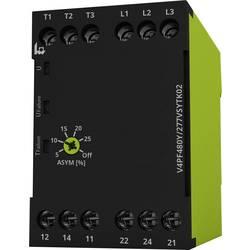 Overvågningsrelæer 208 - 480 V/AC 2 x omskifter 1 stk tele V4PF480Y/277VSYTK02 3-fase, Fasefølge, Faseudfald, Asymmetri
