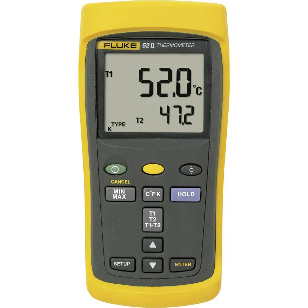 Temperaturna merilna naprava Fluke 52 II -250 do +1372 °C tip tipala J, K, T, E kalibracija narejena po: DAkkS