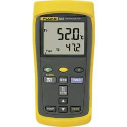 Mjerač temperature Fluke Fluke 52 II -250 do +1372 °C tip osjetnika J, K, T, E kalibriran prema: tvorničkom standardu