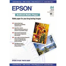 Fotografski papir Epson Archival Matte Paper C13S041342 DIN A4 192 g/m 50 strani, mat