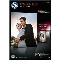 Fotografski papir HP Premium Plus Photo Paper CR677A 10 x 15 cm 300 g/m 25 strani, visoko-sijoč