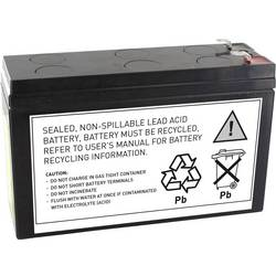 UPS-batteri Conrad energy ersätter org. batteri RBC106