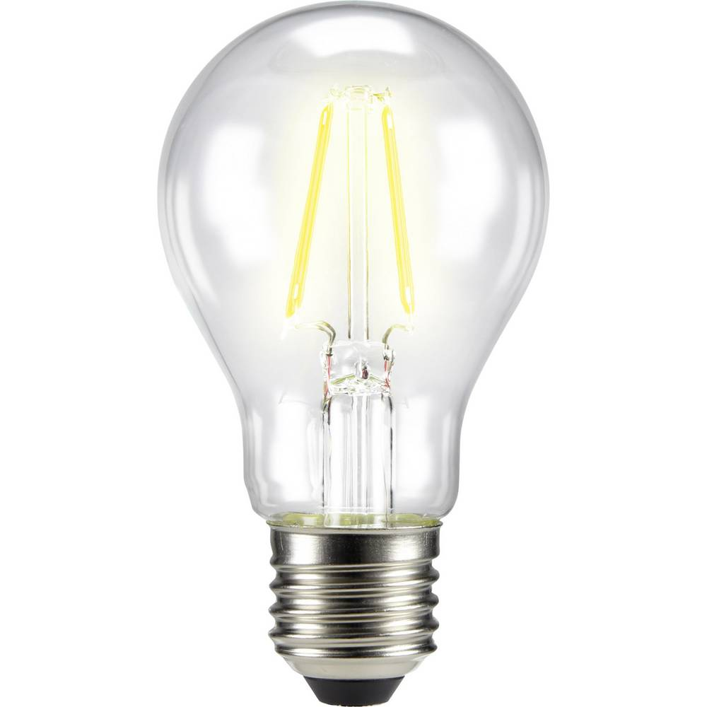 LED žarulja (jednobojna) 105 mm sygonix 230 V E27 4 W = 40 W toplo bijela KEU: A++ klasičan oblik sa žarnom niti, sadržaj 1 kom.