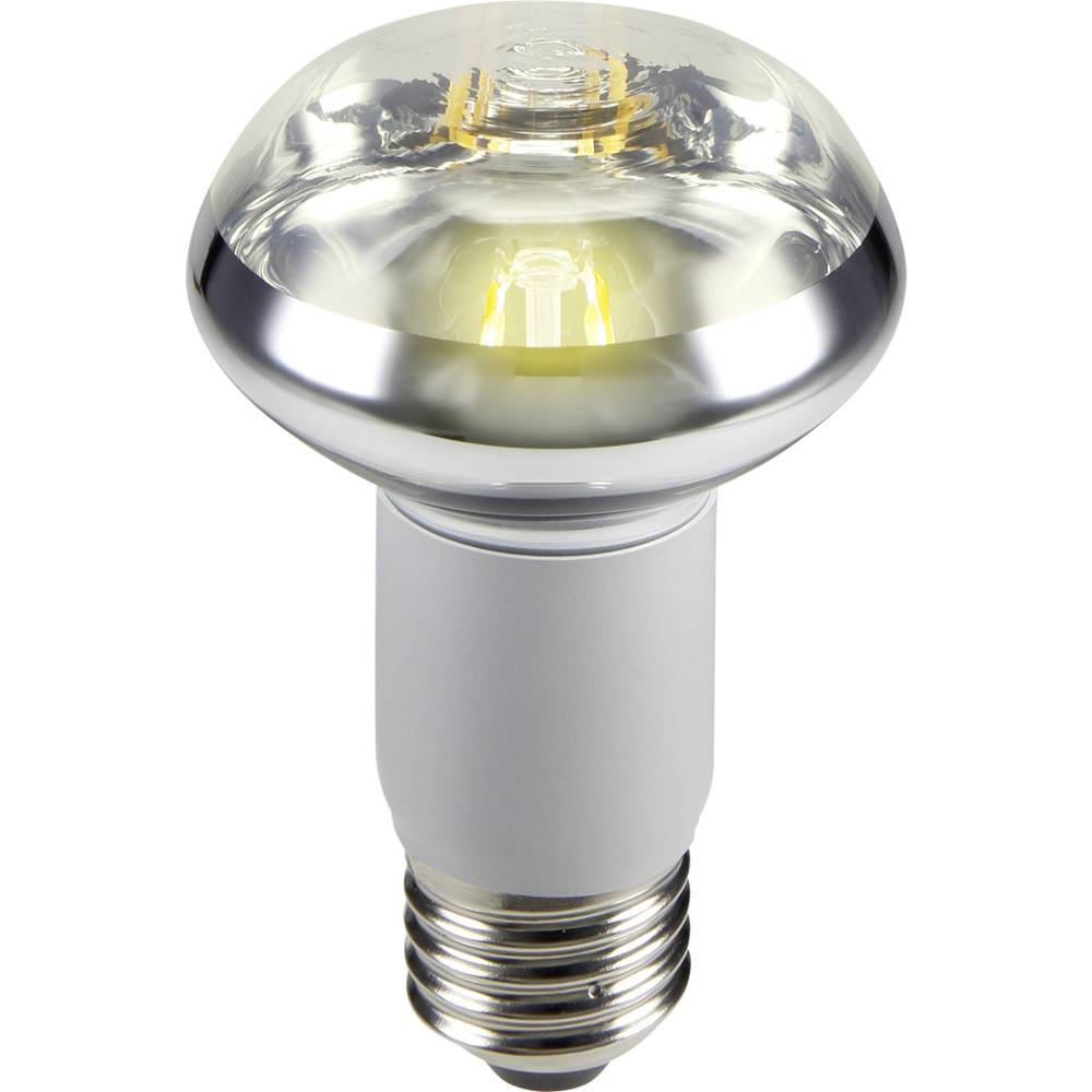 LED žarnica E27 reflektorska 5 W = 47 W topla bela (premer x D) 63 mm x 100 mm EEK: A Sygonix filament 1 kos