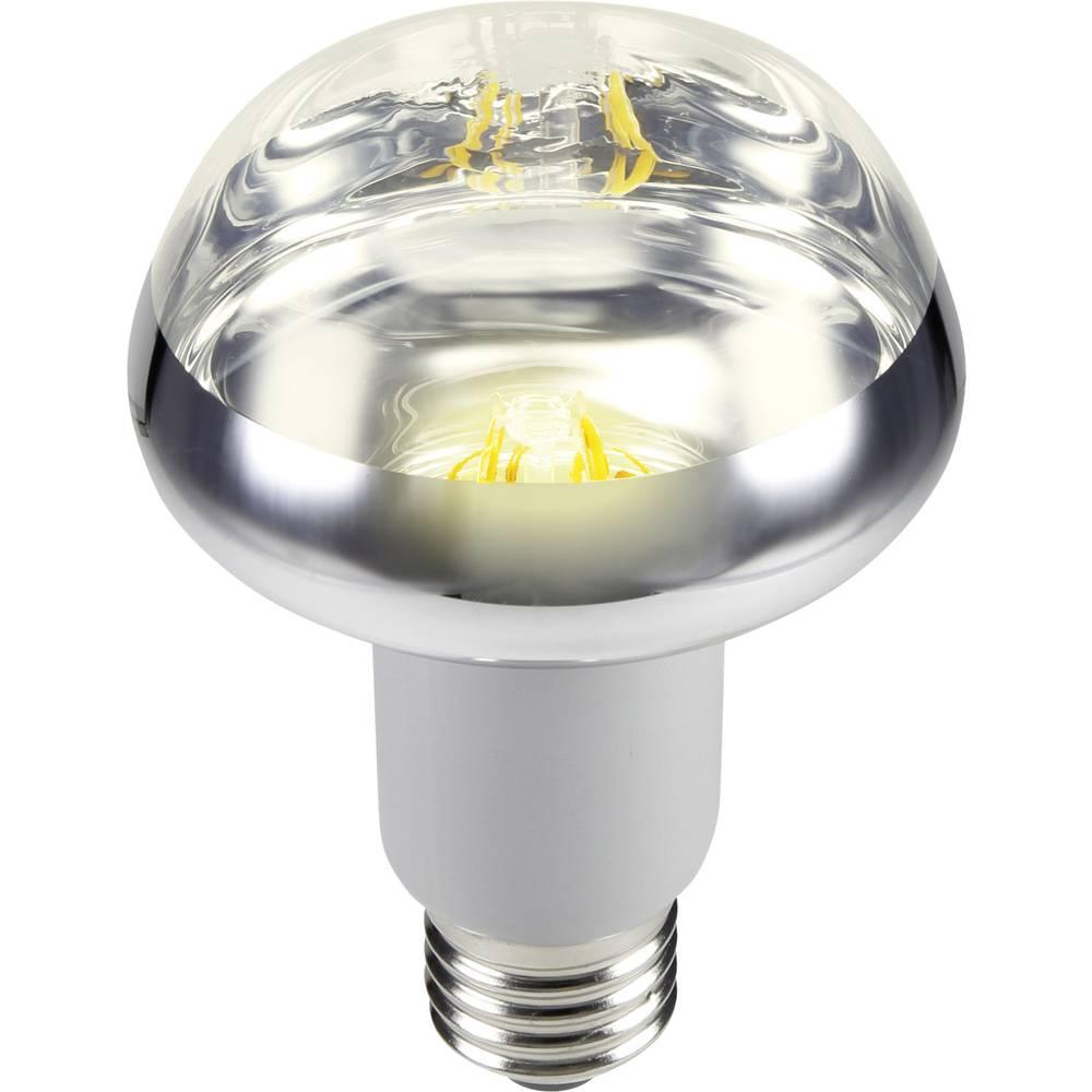 LED žarulja (jednobojna) 117 mm sygonix 230 V E27 5.5 W = 42 W toplo bijela KEU: A reflektor sa žarnom niti, sadržaj 1 kom.