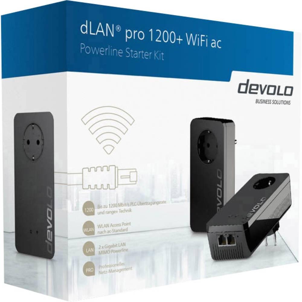 Powerline WLAN početni komplet 1.2 Gbit/s Devolo Business Solutions dLAN® pro 1200+ WiFi ac