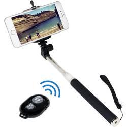 LogiLink BT0034 palica za selfije 8.7 cm 1/4 colski črna, srebrna vklj. pašček za roko