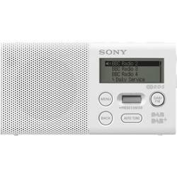 Sony XDR-P1DBP Žepni radio DAB+, UKW Funkcija polnjenja baterije, Ponovno polnjenje Bela