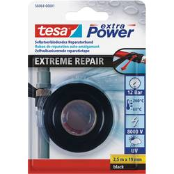 tesa 56064-01-00 56064-01-00 repair tape črna (D x Š) 2.5 m x 19 mm 2.5 m