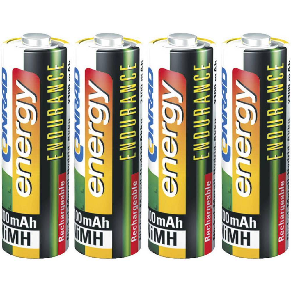 Mignon (AA) baterija na punjenje NiMH Conrad energy Endurance HR06 2600 mAh 1.2 V 4 kom.