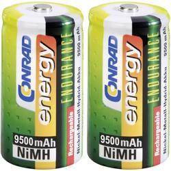 Mono (D) baterija na punjenje NiMH Conrad energy Endurance HR20 9500 mAh 1.2 V 2 kom.