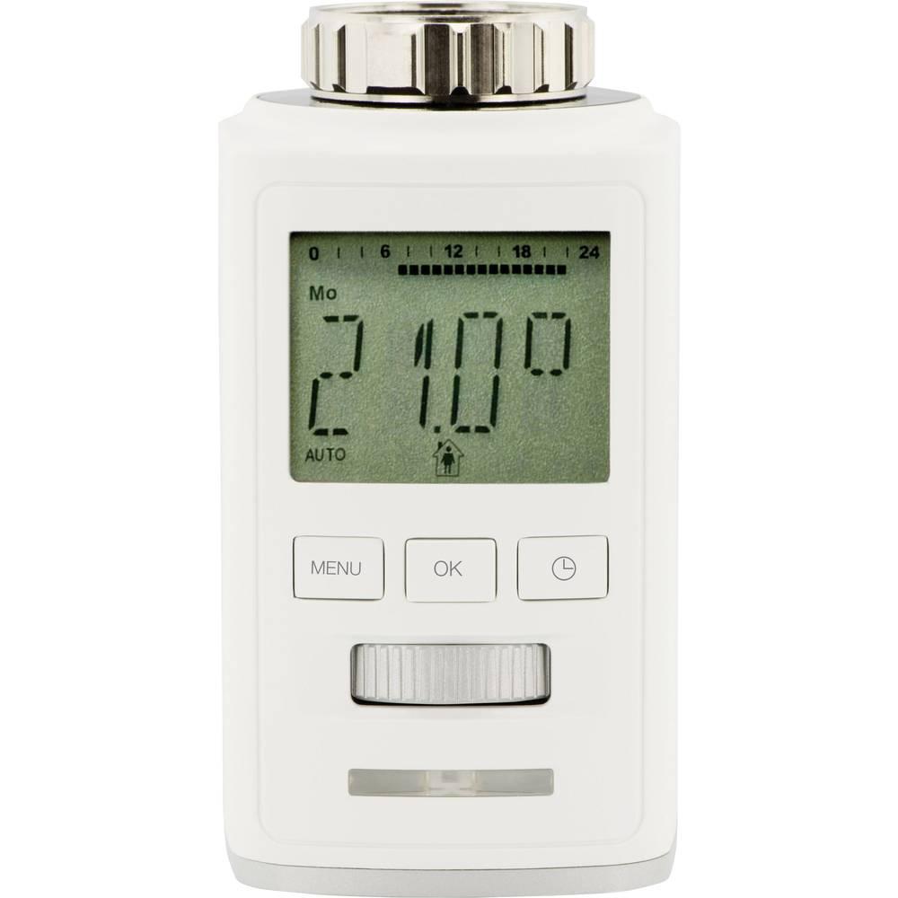 Radiatorski termostat, elektronski, 2 delni komplet, 8 do 28 °C Sygonix HT100