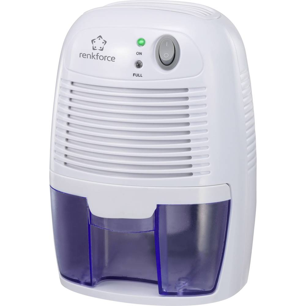 Luftentfeuchter (value.1291353) Renkforce HD-68W 20 m² Hvid, Blå 1 stk