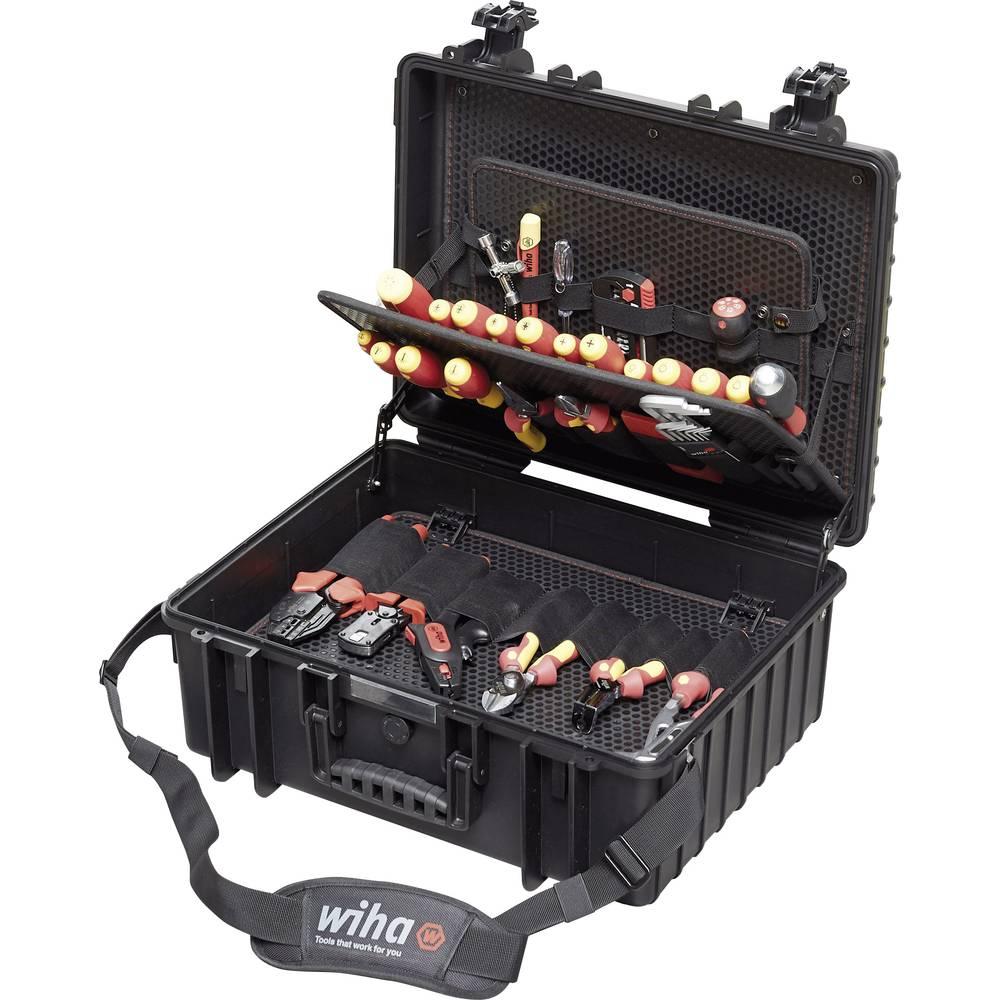 Kovček za električno orodje, z vsebino 80 delni Wiha Professional 40523 (D x Š x V) 510 x 419 x 215 mm