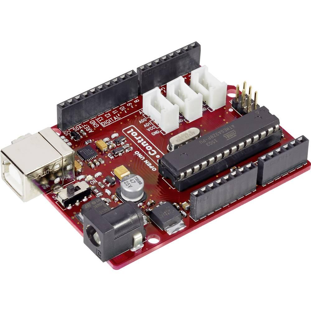 C-Control Duino Open Arduino™ kompatibel 7 - 12 V vhod / izhod 3,3/5 V kompatibilen vmesnik 1 x IC, 1 x SPI, 1 x UART, 1 x