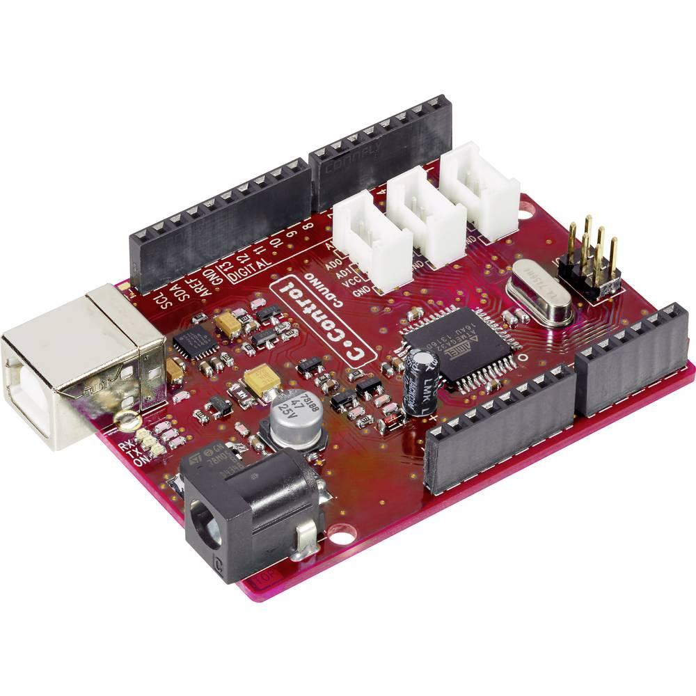 C-Control Duino PRO Mega 32 7 - 12 V vhod / izhod 5 V kompatibilen, vhodni-/izhodni vmesnik 1 x IC, 1 x SPI, 1 x UART, 1 x USB