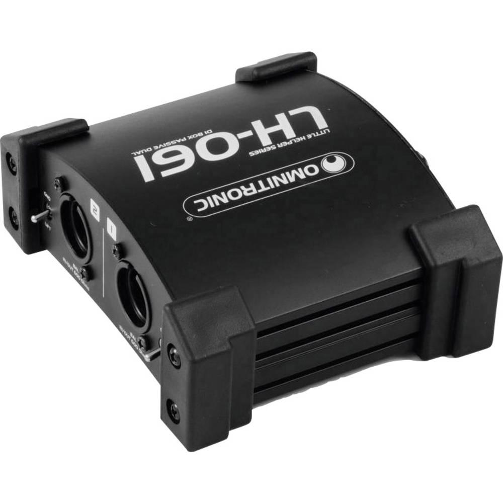 Pasivna DI škatla 2-kanalni Omnitronic LH-061 PRO