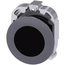 Tryckströmställare Siemens SIRIUS ACT 3SU1060-0JB10-0AA0 Metallfrontring, Flat ställdon Svart 1 st
