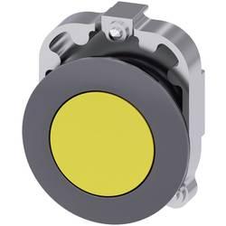 Tryckströmställare Siemens SIRIUS ACT 3SU1060-0JB30-0AA0 Metallfrontring, Flat ställdon Gul 1 st