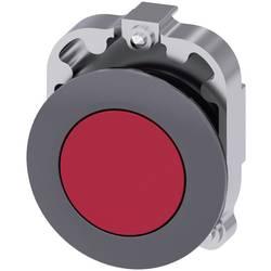 Tryckströmställare Siemens SIRIUS ACT 3SU1060-0JB20-0AA0 Metallfrontring, Flat ställdon Röd 1 st