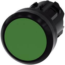 Tryckströmställare Siemens SIRIUS ACT 3SU1000-0AB40-0AA0 Flat ställdon, Plastfrontring Grön 1 st
