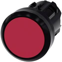 Tryckströmställare Siemens SIRIUS ACT 3SU1000-0AB20-0AA0 Flat ställdon, Plastfrontring Röd 1 st