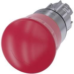 Nödstoppsbrytare, Svampknapp Siemens SIRIUS ACT 3SU1050-1HB20-0AA0 Metallfrontring, högglans Röd Vrid-upplåsning 1 st
