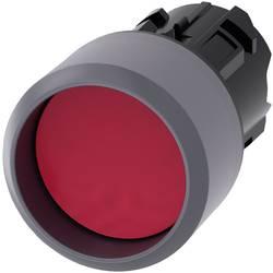 Tryckströmställare Siemens SIRIUS ACT 3SU1030-0CB20-0AA0 Krage ovan, Metallfrontring Röd 1 st