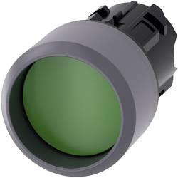 Tryckströmställare Siemens SIRIUS ACT 3SU1030-0CB40-0AA0 Krage ovan, Metallfrontring Grön 1 st