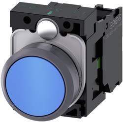 Tryckströmställare Siemens SIRIUS ACT 3SU1130-0AB50-1BA0 Plastfrontring, Flat ställdon Blå 1 st