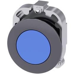 Tryckströmställare Siemens SIRIUS ACT 3SU1060-0JB50-0AA0 Metallfrontring, Flat ställdon Blå 1 st