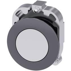 Tryckströmställare Siemens SIRIUS ACT 3SU1060-0JB60-0AA0 Metallfrontring, Flat ställdon Vit 1 st