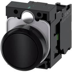 Tryckströmställare Siemens SIRIUS ACT 3SU1100-0AB10-1BA0 Plastfrontring, Flat ställdon Svart 1 st