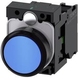 Tryckströmställare Siemens SIRIUS ACT 3SU1100-0AB50-1BA0 Plastfrontring, Flat ställdon Blå 1 st