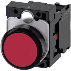Tryckströmställare Siemens SIRIUS ACT 3SU1100-0AB20-1CA0 Plastfrontring, Flat ställdon Röd 1 st