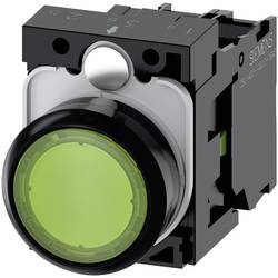 Tryckströmställare Siemens SIRIUS ACT 3SU1102-0AB40-1BA0 Plastfrontring, Flat ställdon Grön 1 st
