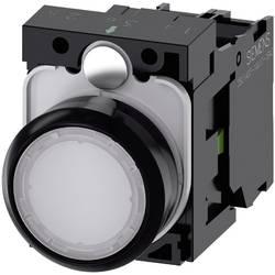 Tryckströmställare Siemens SIRIUS ACT 3SU1102-0AB60-1BA0 Plastfrontring, Flat ställdon Vit 1 st