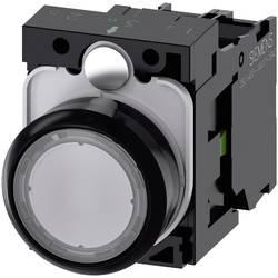 Tryckströmställare Siemens SIRIUS ACT 3SU1102-0AB70-1BA0 Plastfrontring, Flat ställdon Klar 1 st