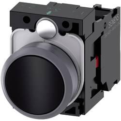 Tryckströmställare Siemens SIRIUS ACT 3SU1130-0AB10-1CA0 Plastfrontring, Flat ställdon Svart 1 st