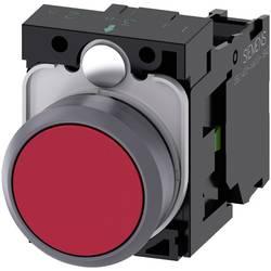 Tryckströmställare Siemens SIRIUS ACT 3SU1130-0AB20-1BA0 Plastfrontring, Flat ställdon Röd 1 st
