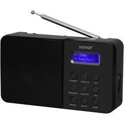 Denver DAB-33 namizni radio DAB+, UKW črna