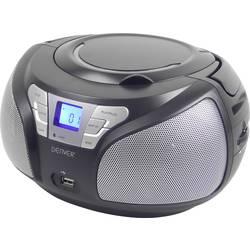 UKV CD-Radio Denver TCU-206 AUX, CD, UKV, USB črna