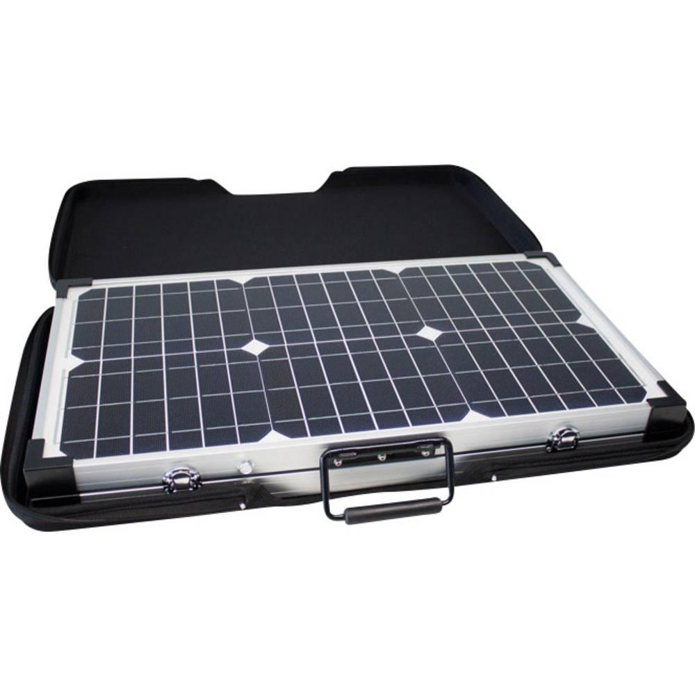 Monokristalni solarni modul 60 W, 12, na preklop