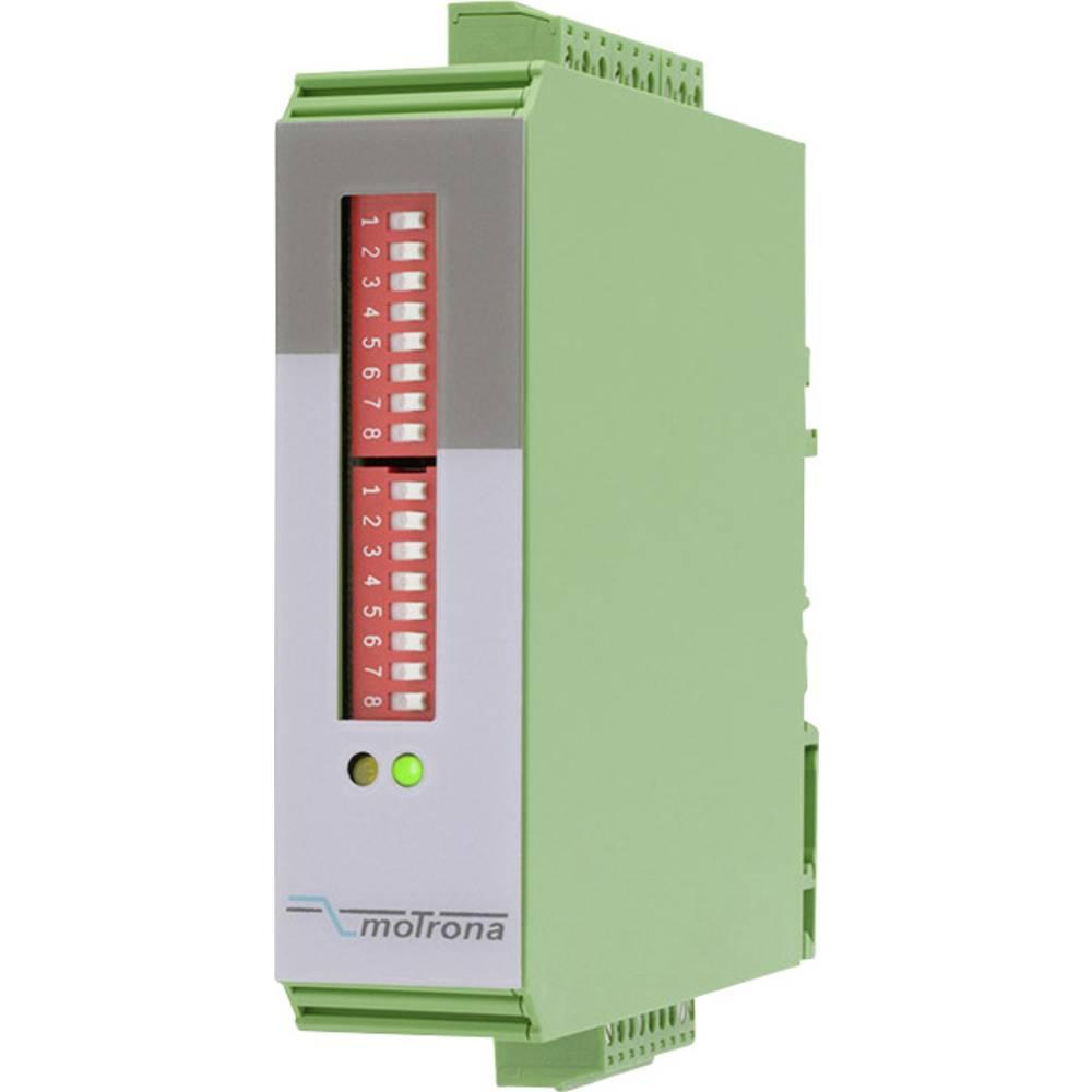 Nadzornik smjera okretanja i zaustavljanja Motrona tip DZ210 17 - 30 V/DC mjerni ulazi:1, izlazi: 2, relejni izlazi / 2 poluvodi